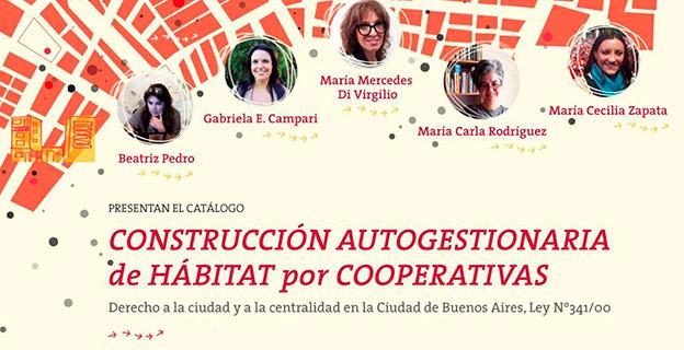 Catálogo «Construcción Autogestionaria de Hábitat por Cooperativas»