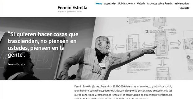 Lanzamiento de la página web de Fermín